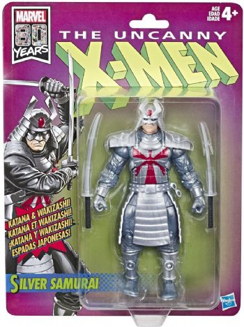 Marvel Legends The Uncanny X-Men Retro Collection Silver Samurai Action Figure